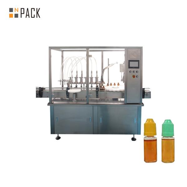 Mașină automată de umplere prin pulverizare de deodorant lichid de spălat vase