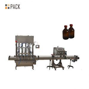 Precizie înaltă Mașină automată de umplere ulei / lubrifiere