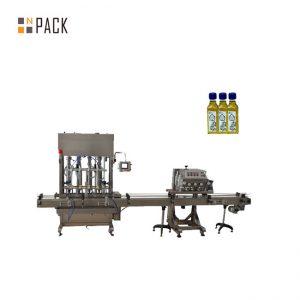 Șampon liniar de înaltă calitate, balsam de visocus lichid servomotor de control cu motor de umplere cu piston