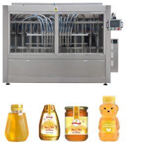 Automat Servo Tip Pistă Sos Miere Dulciuri de vâscozitate ridicată Lichidare Masina de etichetare